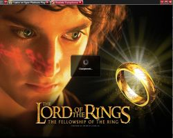 Jeu platinum play : lord of the rings